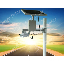 Solar Powered 3G 4G LTE wireless security camera systems for remote monitoring