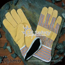 SRSAFETY Cheap summer leather gloves ,china suppliers ,free sample