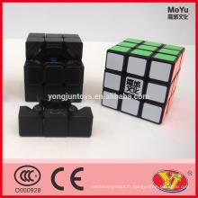Cube d'enregistrement mondial MoYu Weilong Cube éducatif magique de 3 couches