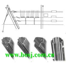 Galvanizado Vineyard metal estacas Roll formando equipamentos fornecedor