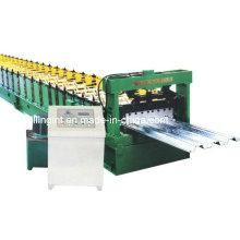 Plataforma automática del piso de la hoja de metal que hace la máquina