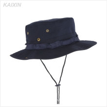 custom floppy fishing hat cap men military boonie bucket hats with string
