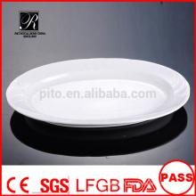 Plaque de porcelaine / plaque de poisson en céramique