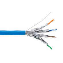 Câble Ethernet CAT6A SFTP 600MHz 10g avec tambour en bois 1000FT