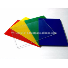 Vietnam price ISO 9001:2008 chemicals resistance, Polystyrene sheet PS sheet