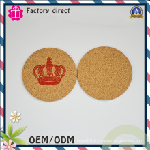 Forme ronde 1 mm Thick Cup Mat Pad Coaster