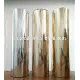 Metallic foil hot stamping foil used on PU PVC leather