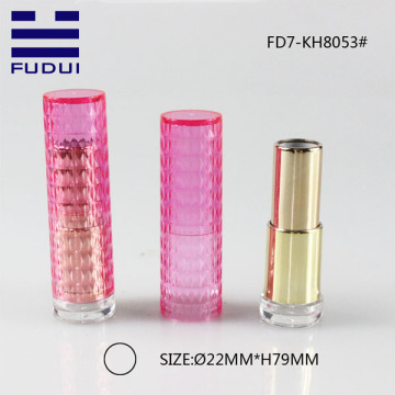 Unique plastic lipstick tube mold case for cosmetic
