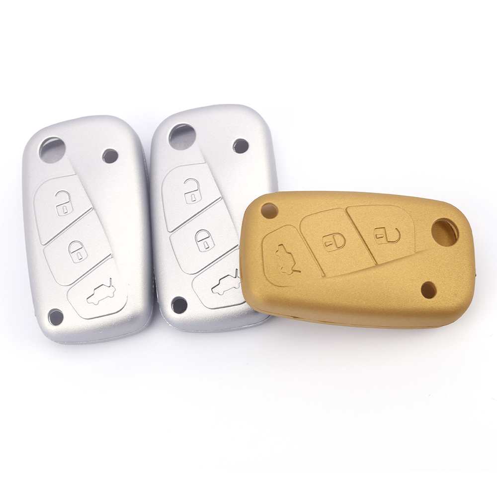 3 Buttons No Logo Keybag