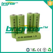 1.2v aa1800mah ni-mh Batterien nimh aa nimh Batterie aa1.2v