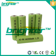 Nimh aa 100mah 1.2v aa batterie rechargeable Faible auto-décharge