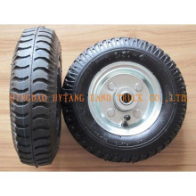 rubber whee rubber wheel 2.50-4 steel rim