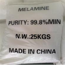 Melamine Powder 99.8%, Industrial Grade (CAS: 108-78-1)