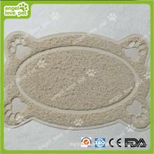 PVC Pet Litter Catcher Mat, produtos para animais de estimação, Pet Bed
