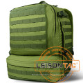 Military Backpack with Hydration System Adopts High Strength 1000d Nylon Being Dealt with Waterproof and Flame Retardant Treatment