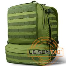 La mochila militar con el sistema de la hidración adopta el nilón 1000d de la alta resistencia que es tratado con el tratamiento impermeable y retardador de la llama