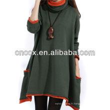 13STC5336 lady robe de modèle à tricoter