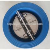 twin door wafer check valve
