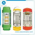 Glaspanoramakabine für Beobachtung Passagieraufzug, Aufzugsteile (OS41)
