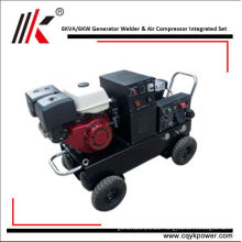 Air cooled diesel engines with welder dynamo generator 6kw for sale