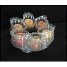 Air buffer packing bag for six apples