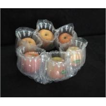 Bolsa de embalagem com tampão de ar para seis maçãs