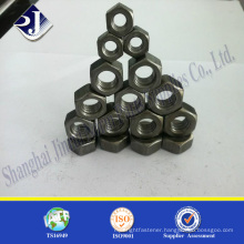Black finished heavy hex nut A194 2h heavy hex nut Heavy hex nut