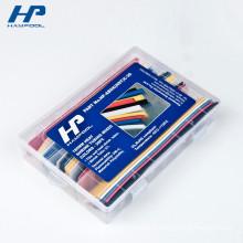 Petite boîte d'emballage de stockage de tube de papier en plastique dur transparent