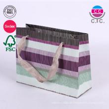 Nach Maß Farbdruck Kleidung Papier Shopping Geschenktüte