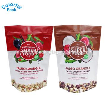 100g 250g 500g lebensmittelqualität beutel aluminiumfolie taschen snack verpackung aufstehen beutel für kokos