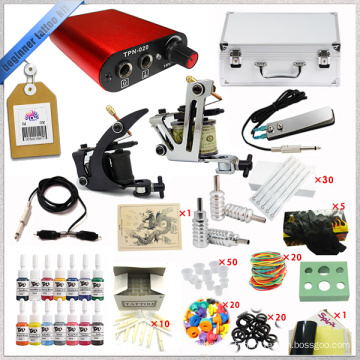 Le plus récent kit de machine à tatouage rotatif complet.