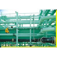 Tubulação de transporte de água ou produtos químicos