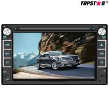 6.2inch doble DIN 2DIN reproductor de DVD de coche con sistema Wince Ts-2018-2