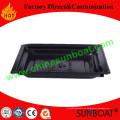 Sunboat venta caliente esmalte bandeja/placa Rectangular