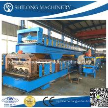 CE-geprüfte verzinkte Stahlblech-Bodenbelag-Umformmaschine