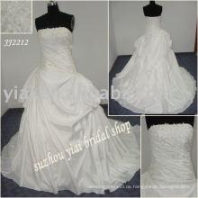 Einzigartiger Ballart glänzender Hochzeitskleidentwerfer JJ2212