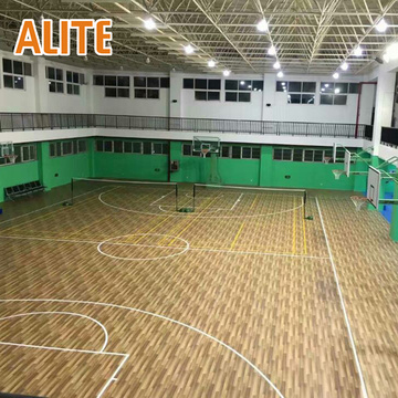 ENLIO Pavimento desportivo em PVC - basquetebol Sports Flooring