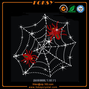 Professional Design for Tiger Iron On Transfer Spider web wholesale rhinestone transfers supply to El Salvador Exporter