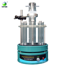 lab reactors TOPT-V Photo chemical UV glass reactor 500W Price for photocatalyst reaction