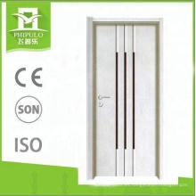 2018 Alibaba casa puerta diseño MDF panel de melamina puerta de madera