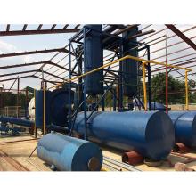 chaîne de production de recyclage de pneu de rebut de réacteur rotatoire horizontal avec la bonne qualité d'huile