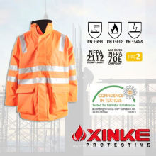 First class safty arc flash protective jacket for welders uniform