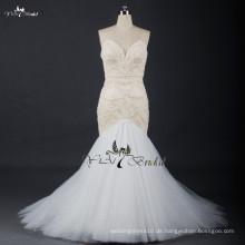 RSW720 Suzhou Beschreibung Von Champagne Farbige Kristall Perlen Für Meerjungfrau Brautkleider