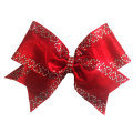 Coeur brillant courroux bow strips strass transferts
