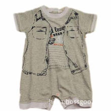 Branded unisex cotton baby clothes rompers