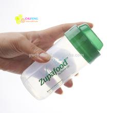 Bouteille de shaker de protéine de mélangeur de BPA 200ml sans BPA Petite bouteille d'eau potable