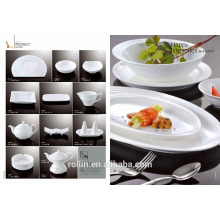 china supplier wholesale hotel restaurant white cheap porcelain ceramic plate