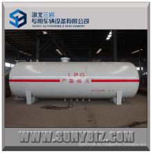 25000L almacenamiento horizontal de tanque de GLP, tanque de almacenamiento de gas