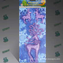 Plastic Decorative Christmas deer ornament Christmas decoration