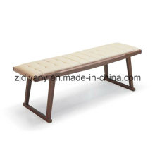 Italian Style Leather Wood Bed Stool (SD-32)